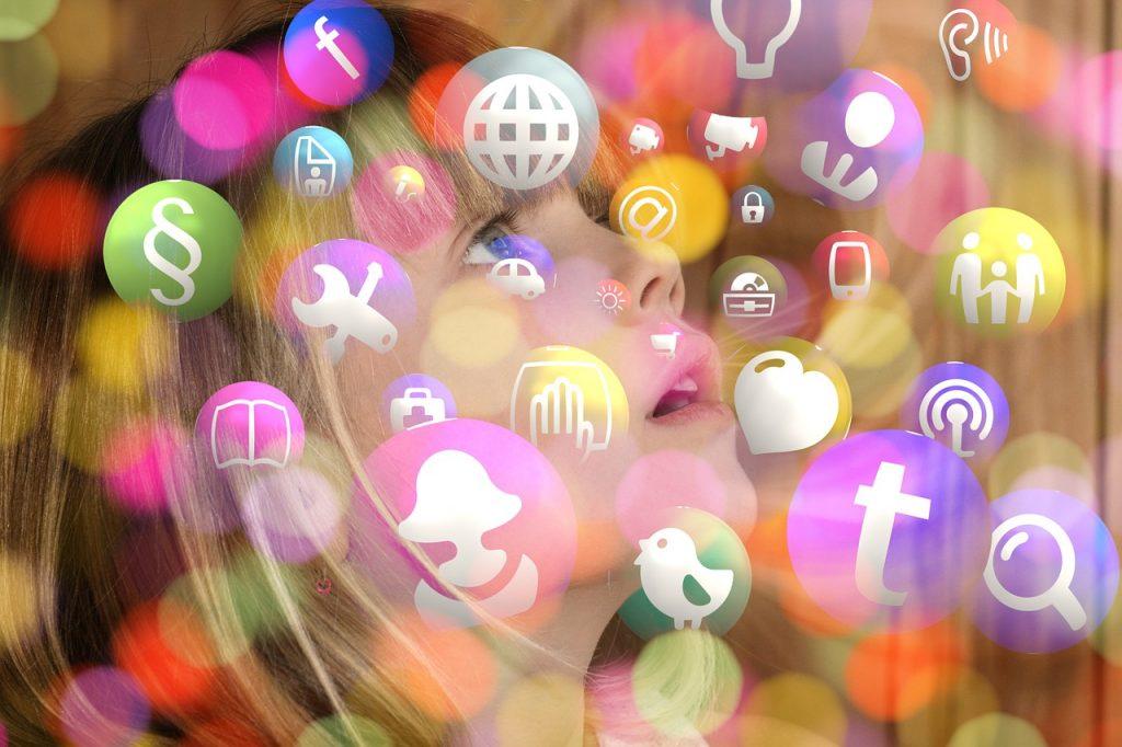 barn sosiale medier