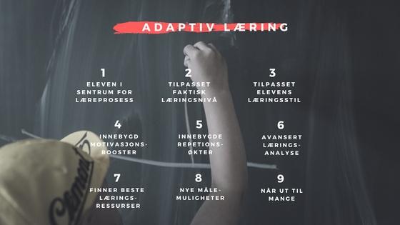 digitalisering adaptiv læring arne krokan